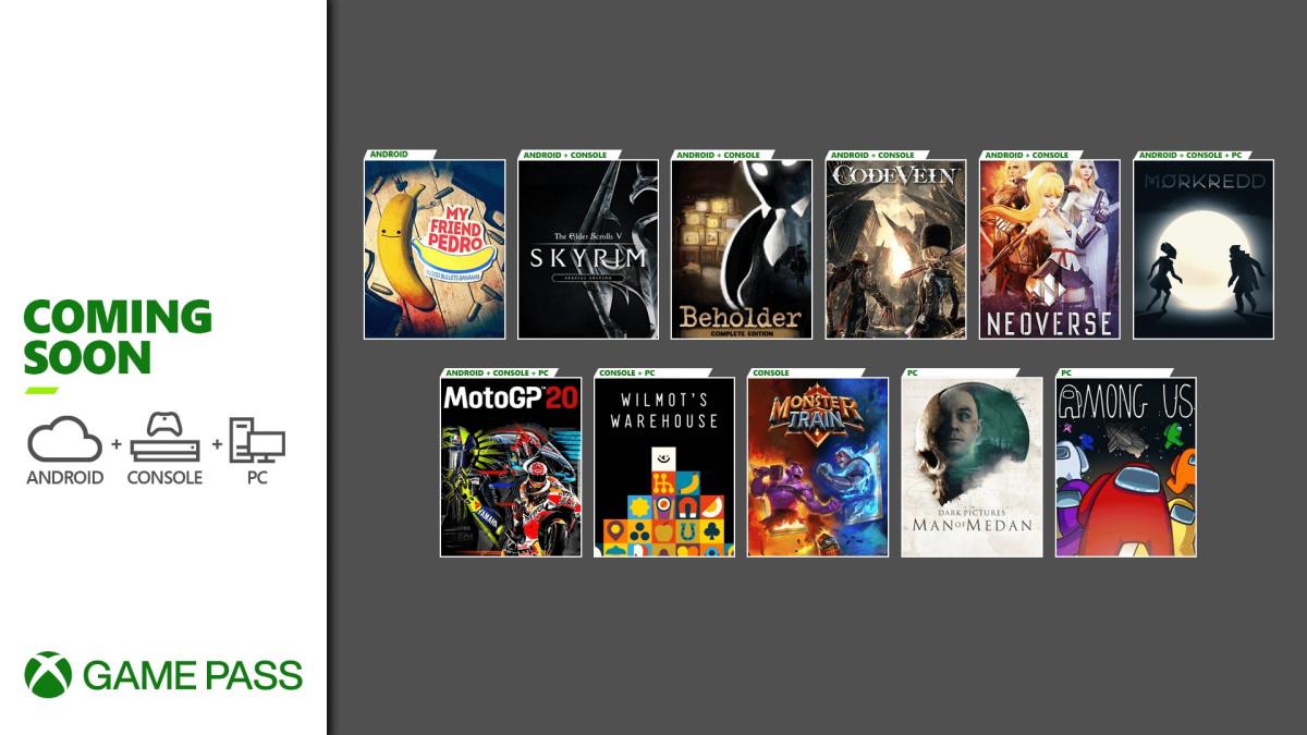 Xbox Game Pass décembre © Microsoft