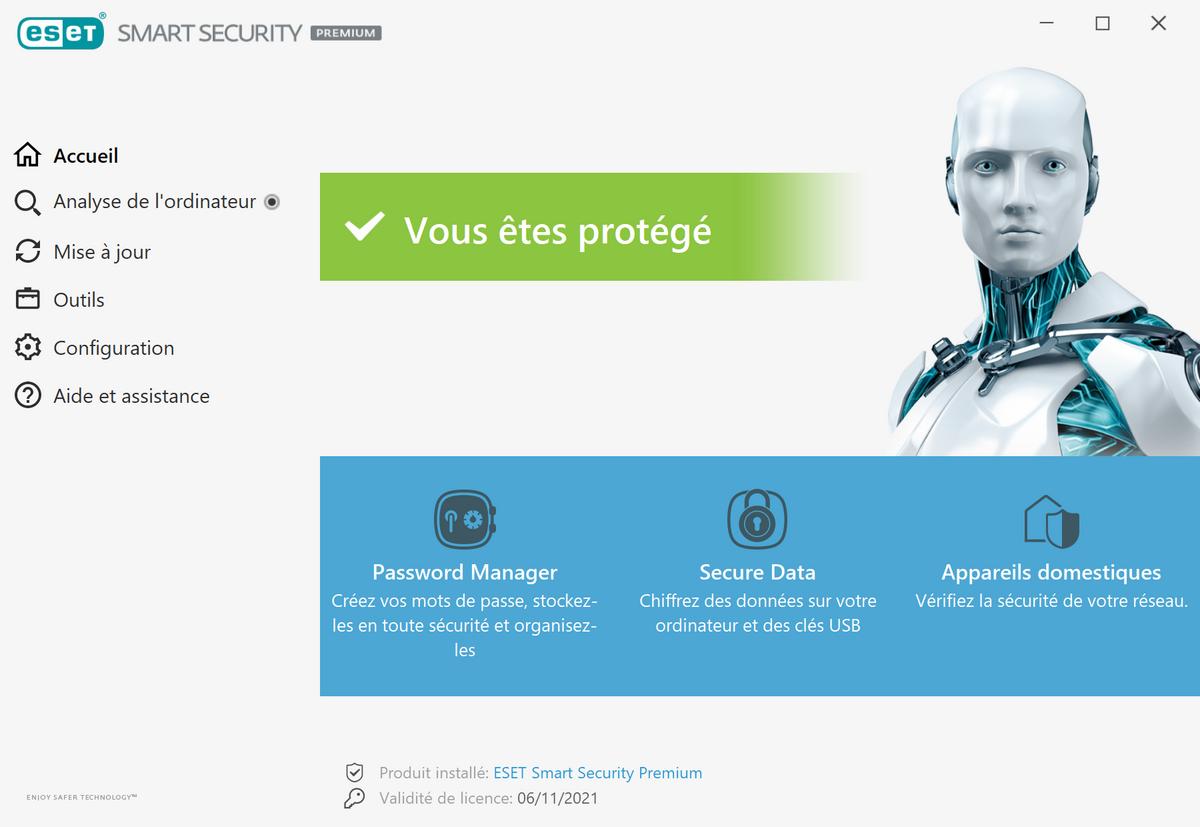 ESET Smart Security 2021 © Stéphane Ruscher