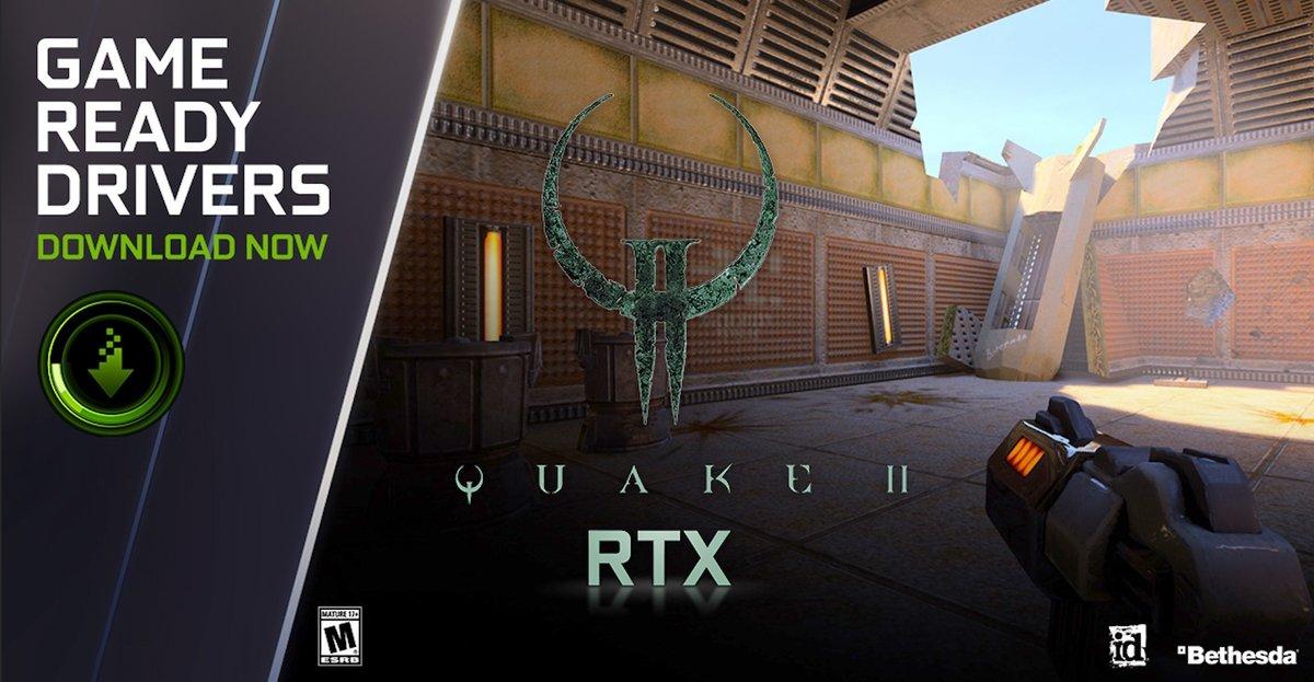 Nvidia Vulkan Quake II © © Nvidia