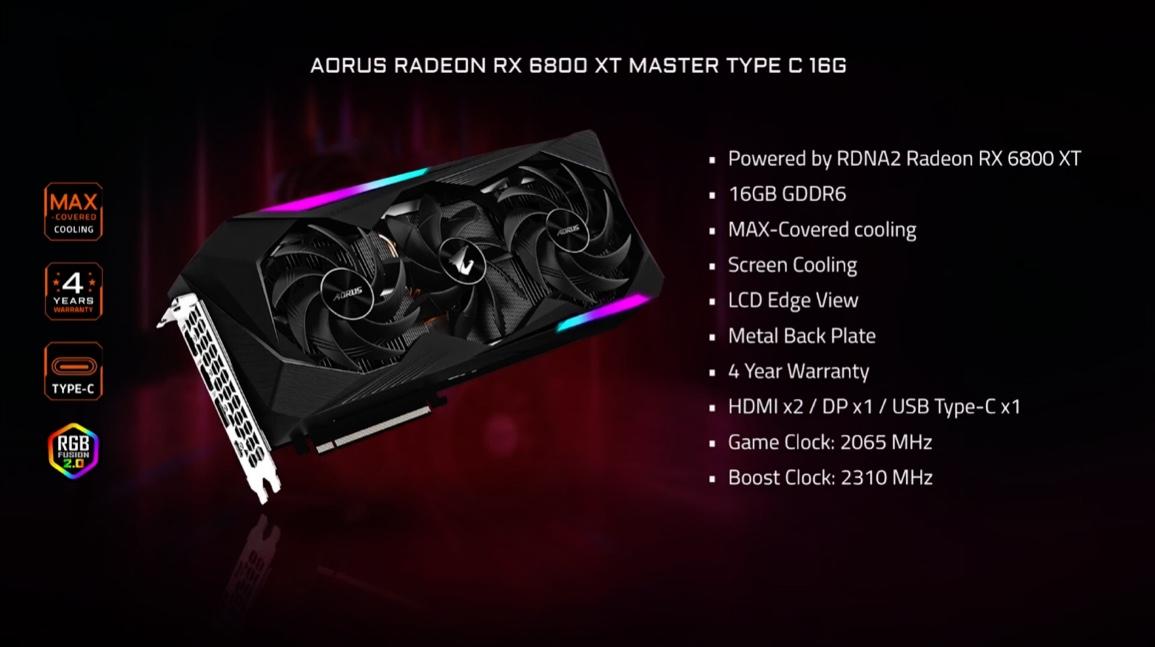Radeon RX 6800 Gigabyte-2 © © Gigabyte