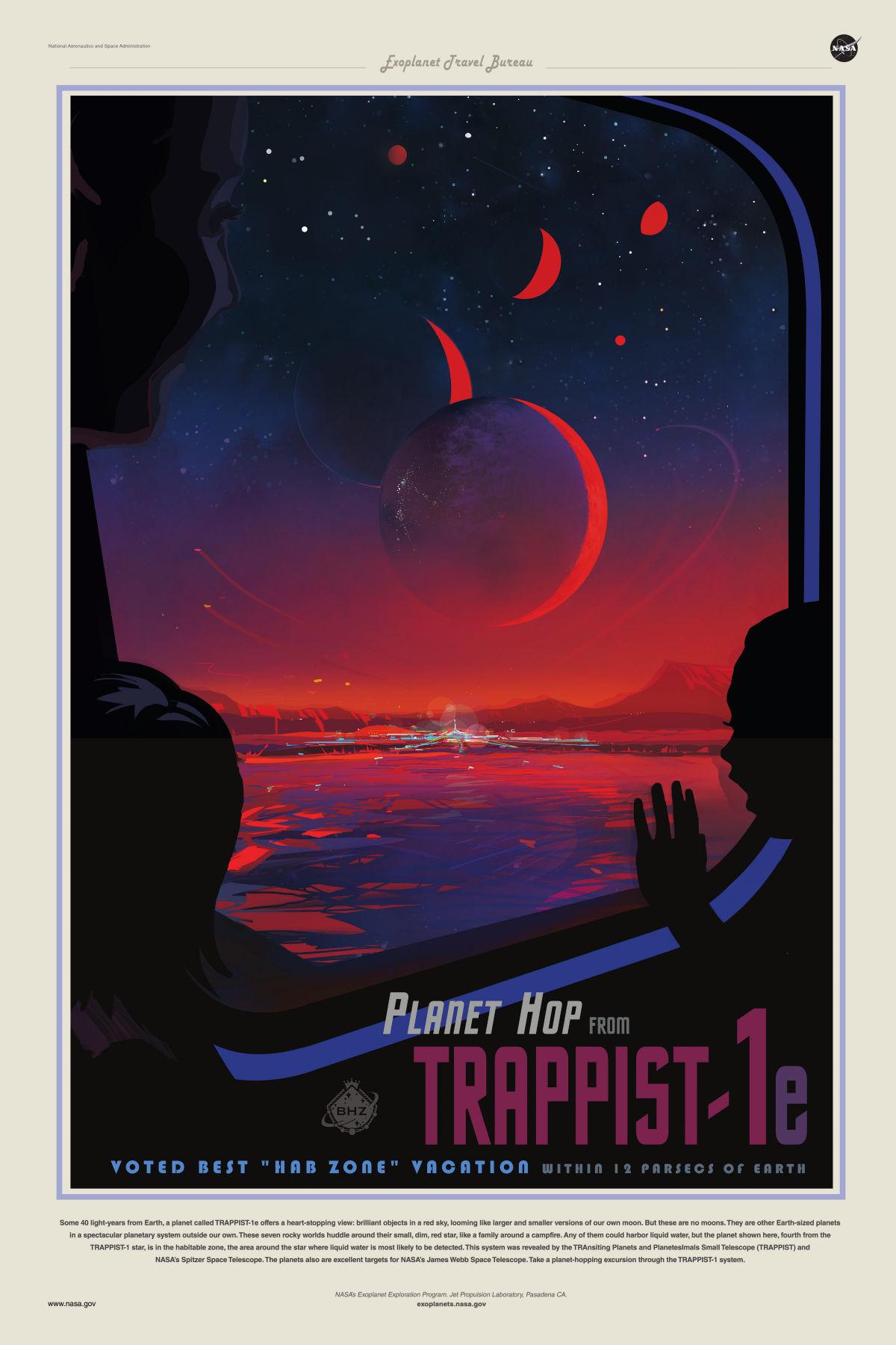 Exoplanète bureau © NASA