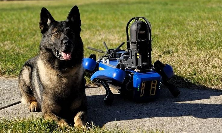 NYPD Digidog © NYPD/Instagram