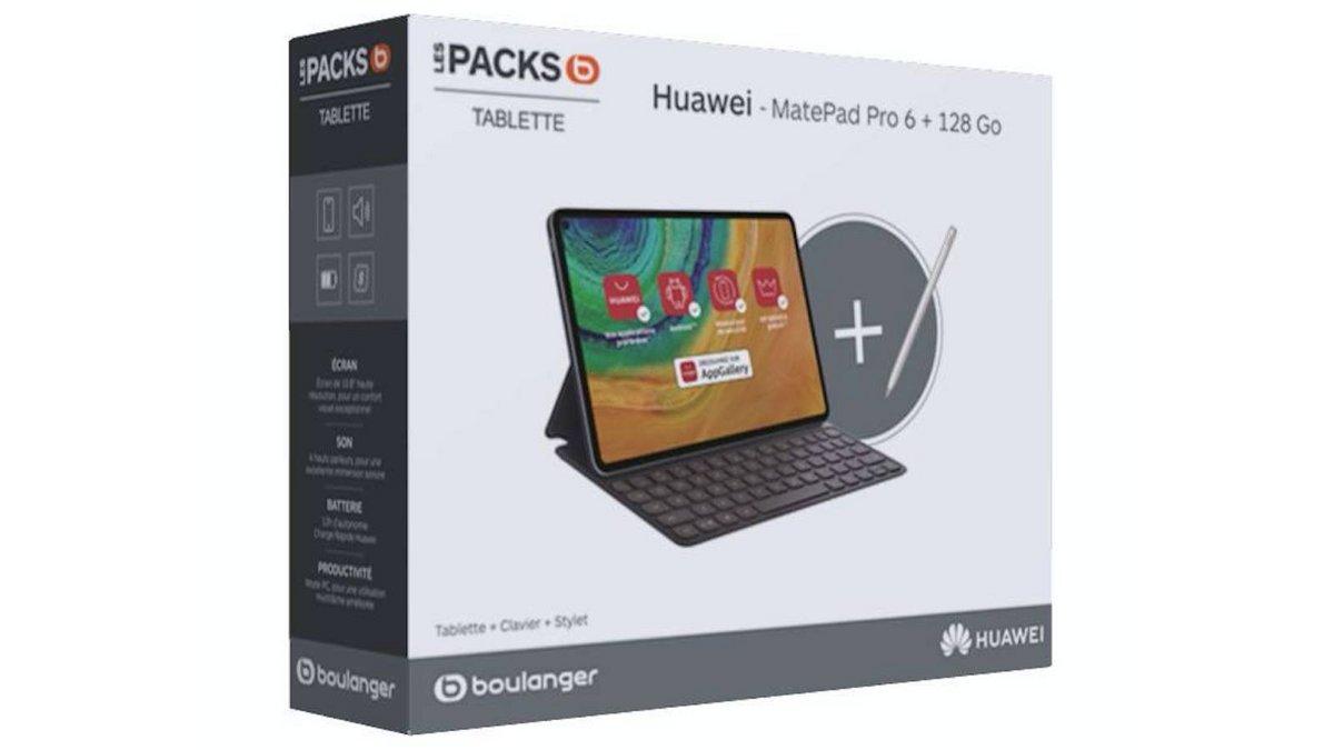 Huawei MatePad Pro avec un clavier et un stylet