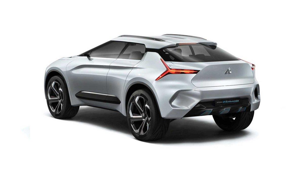 Mitsubishi e-Revolution Concept © Mitsubishi