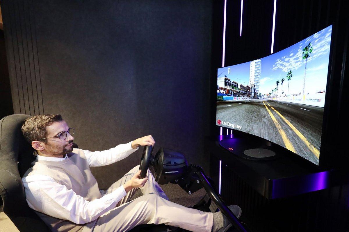 Ecran gaming OLED LG © LG Display