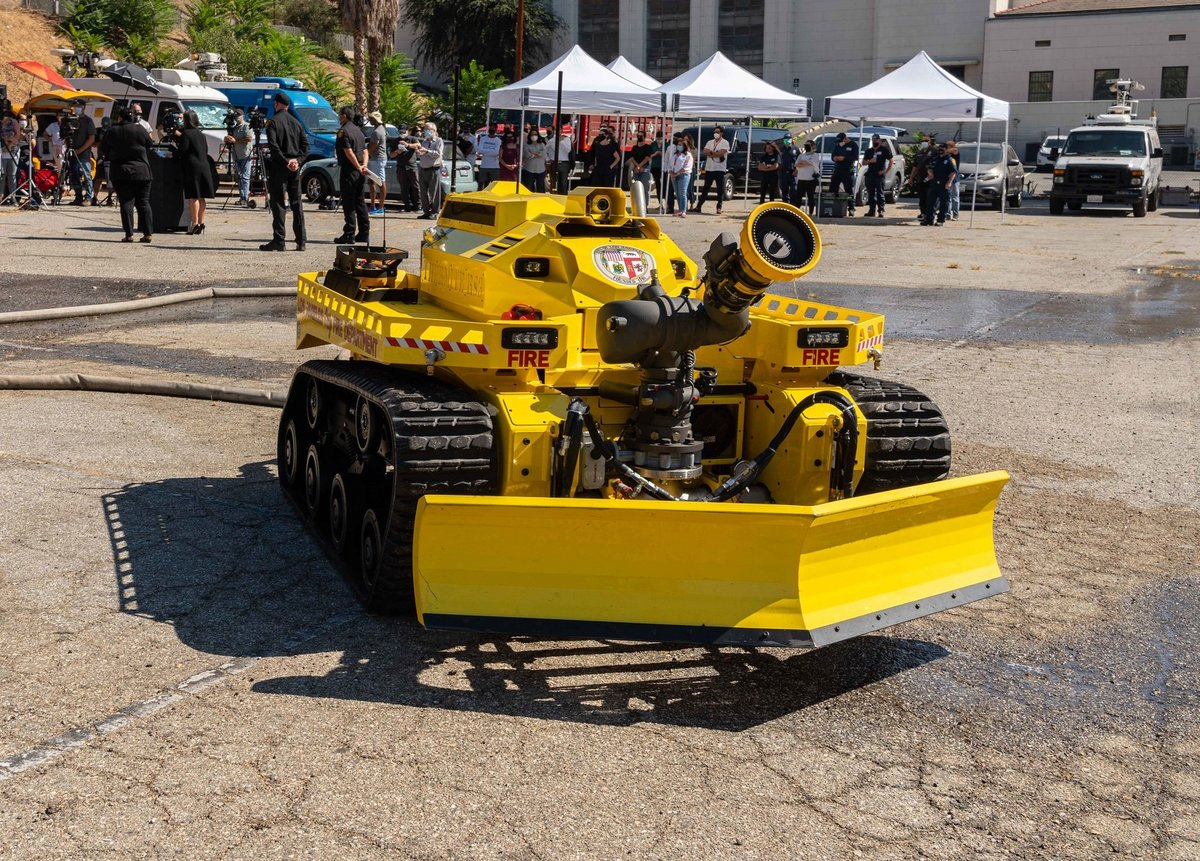 Thermite RS3 Robot Pompier © Los Angeles Fire Departement