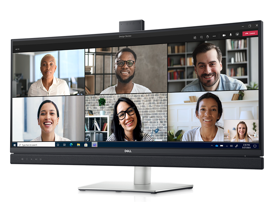 Dell Curved Video Conferencing Monitor © Dell
