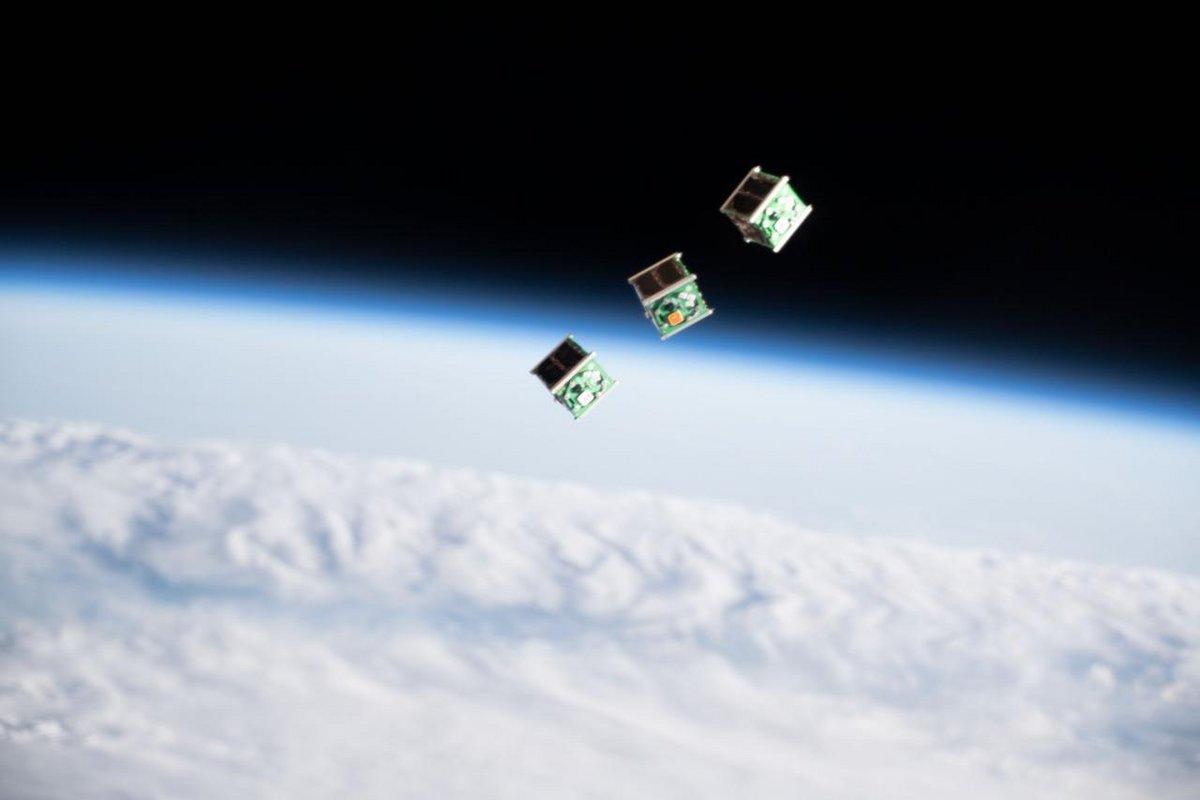 CubeSat 1U orbite © NASA