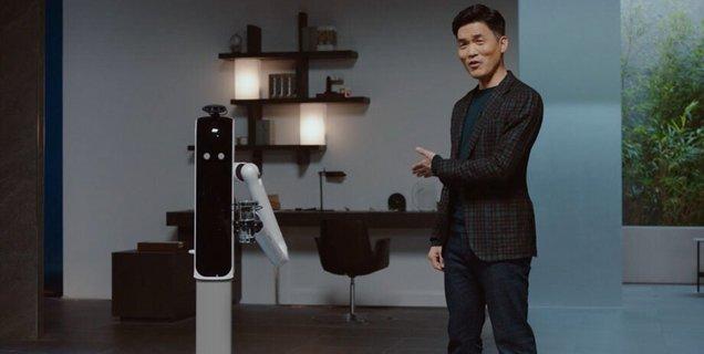 CES 2021 : le robot de Samsung vous sert d'aide ménagère et va même jusqu'à vous apporter votre bière