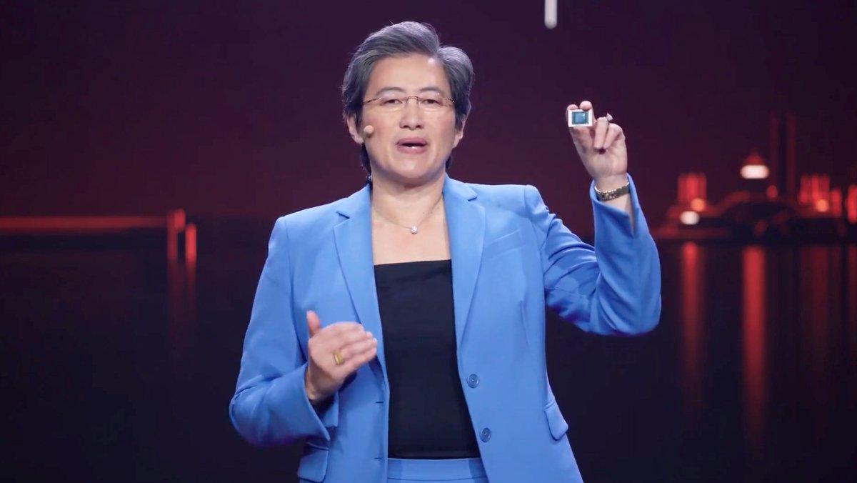 Lisa Su - AMD conférence CS 2021 © © AMD