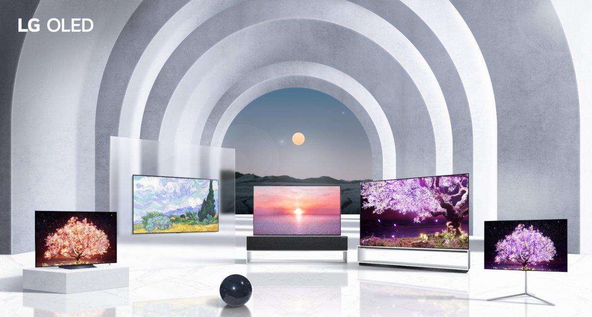 LG OLED TV Lineup © LG