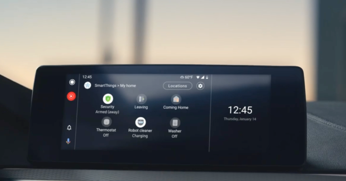 smartthings android auto