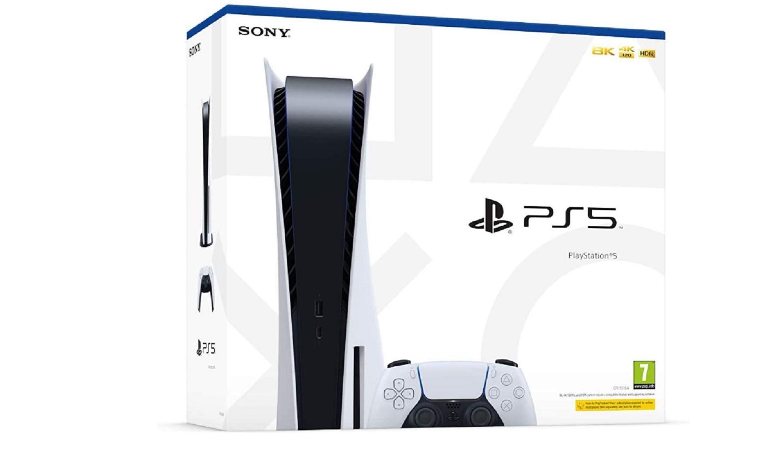 PS5 boîte