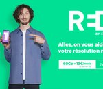 Soldes : RED by SFR relance son forfait 4G 60 Go à 13€/mois !