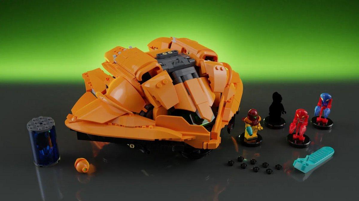 Metroid Lego © Lego