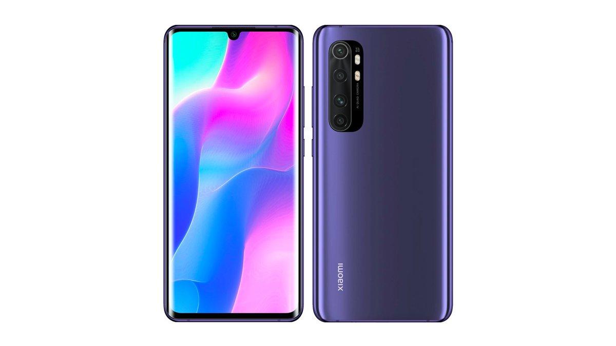 Xiaomi Mi Note 10 Lite Violet bp
