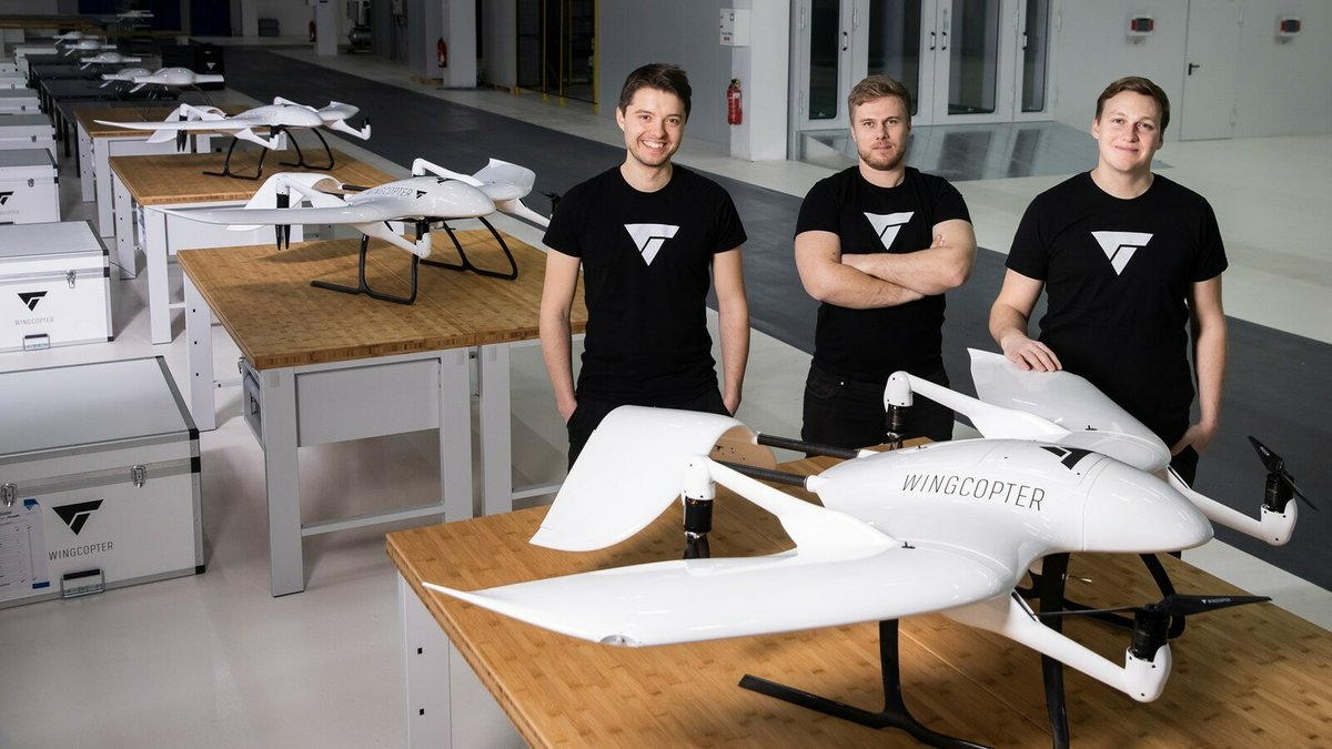Wingcopter team © Wingcopter