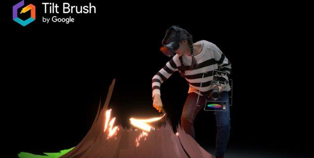 Google abandonne Tilt Brush, son application de peinture en réalité virtuelle, et la rend open source
