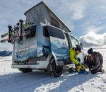Nissan dévoile un van baroudeur et tout électrique : le e-NV200 Winter Camper