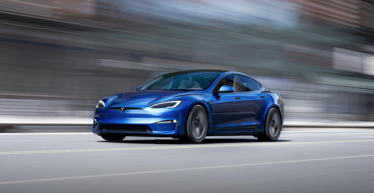 Tesla Model S Plaid 2021 © Tesla Motor