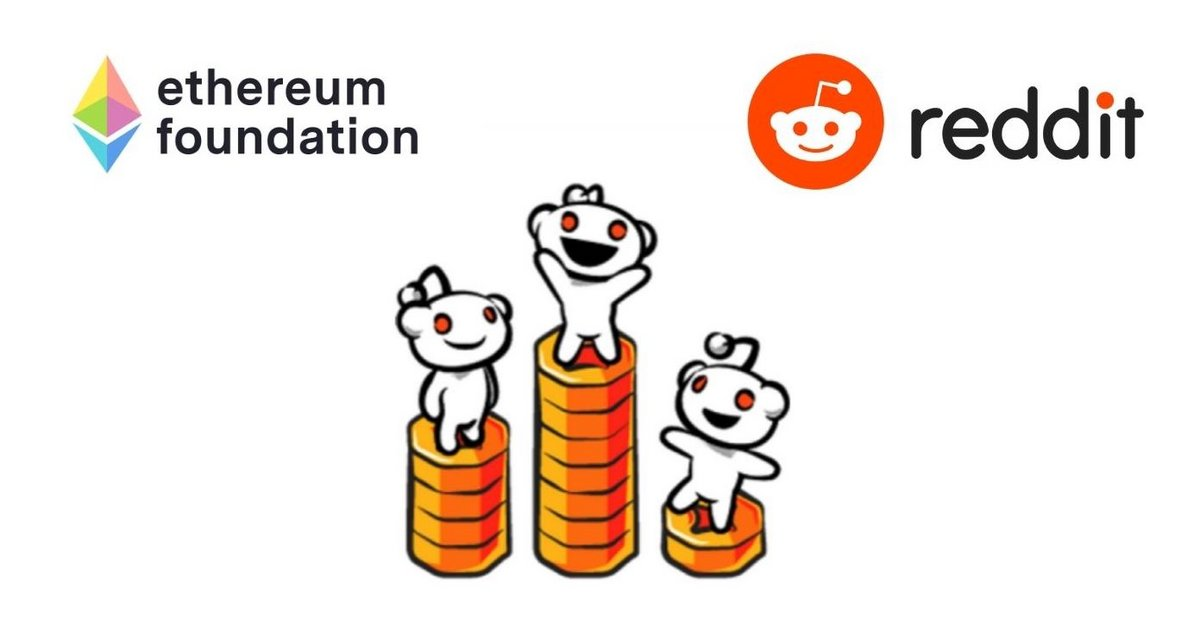 Reddit Fondation Ethereum