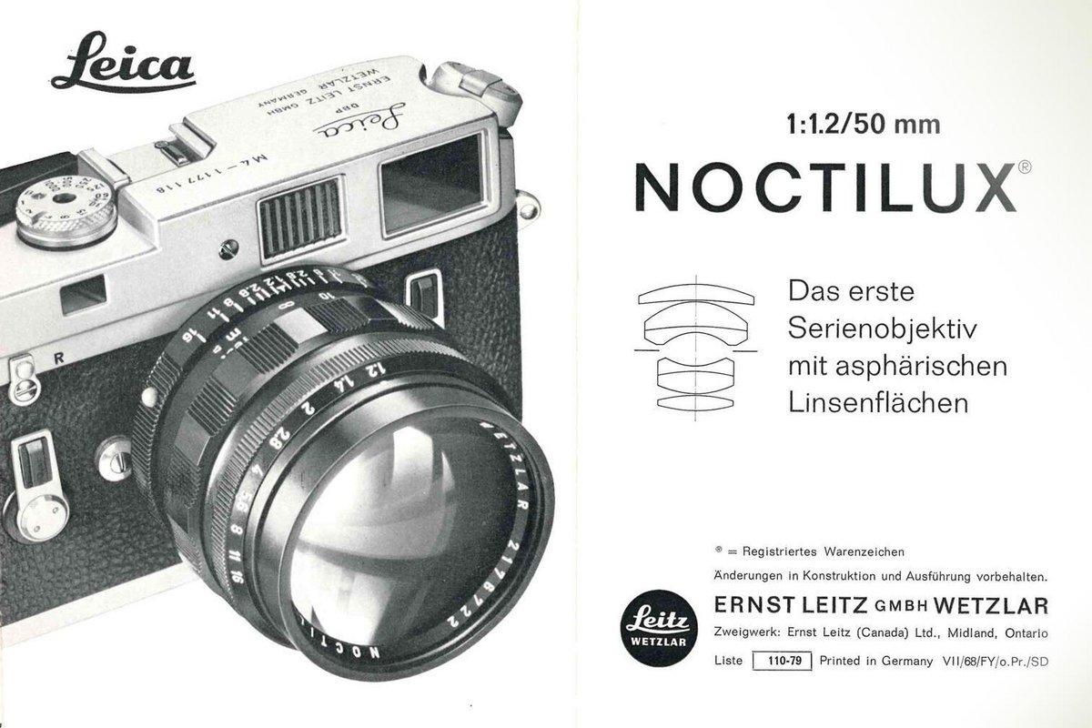Leica noctilux 50 mm