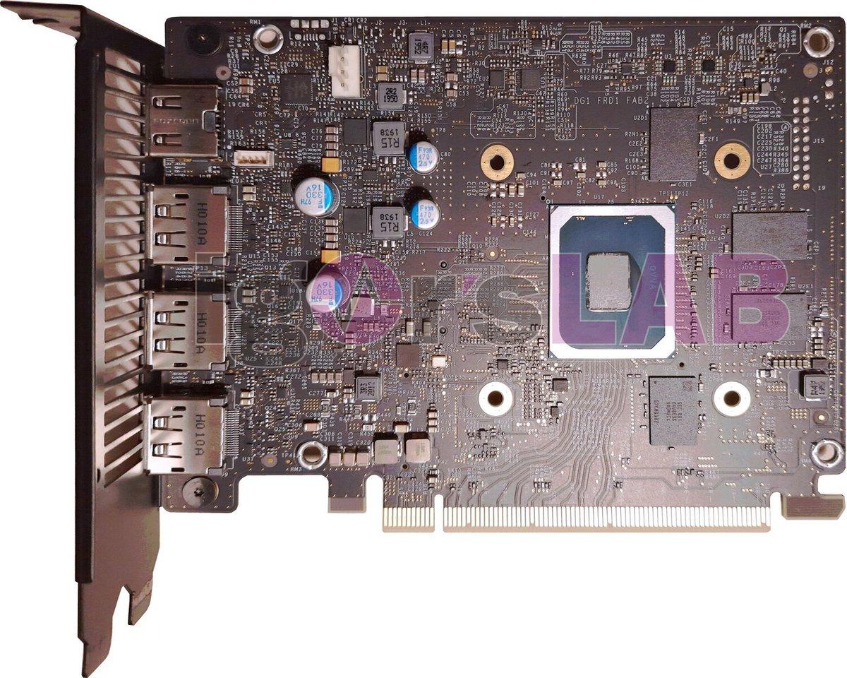 Intel DG1-1 © © Igor's Lab