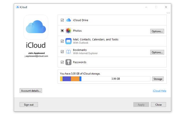 Apple iCloud Passwords Chrome