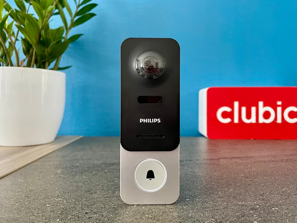Test Philips WelcomeEye Link © © Mathieu Grumiaux pour Clubic