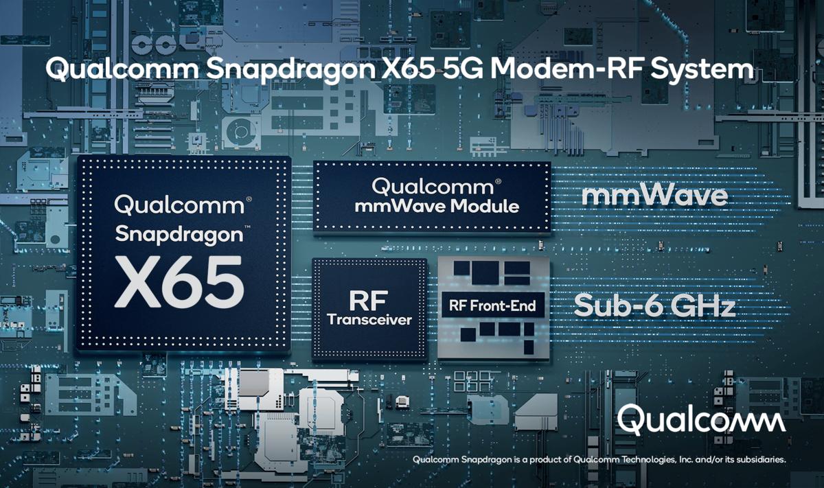 Snapdragon X65 © Qualcomm