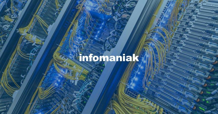 Infomaniak, l'alternative suisse gratuite à Gmail et Google Drive débarque en France - Clubic