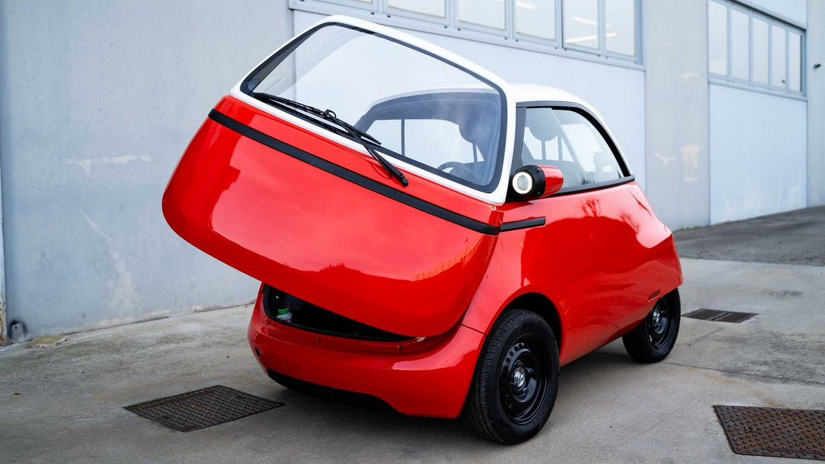 Microlino 2 prototype © Micro-Mobility
