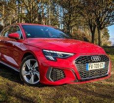 Essai Audi A3 40 Sportback TFSI e : plus de punch et moins de carburant pour la compact hybride