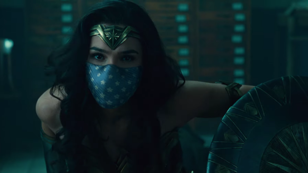 Wonder Woman masque © Warner Media