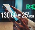 L'opérateur RED by SFR lance un nouveau forfait mobile 130 Go en 5G