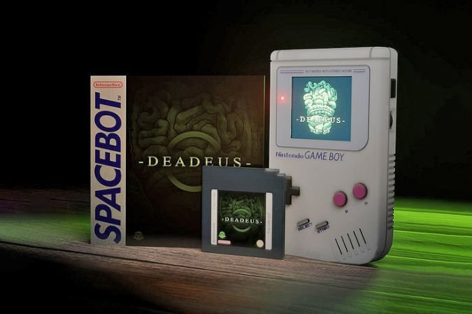 La Game Boy reçoit un nouveau jeu : Deadus, un titre d'horreur en vert (sur fond vert) - Clubic