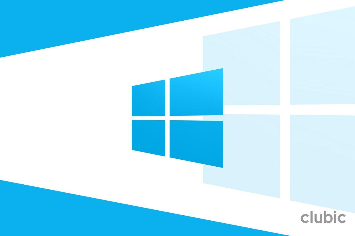 Windows 10 Clubic © Clubic.com