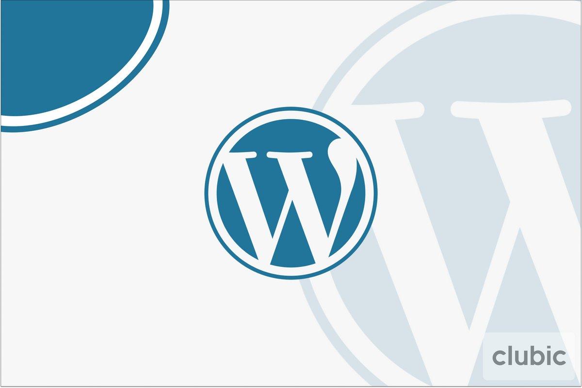 Wordpress Clubic © Clubic.com