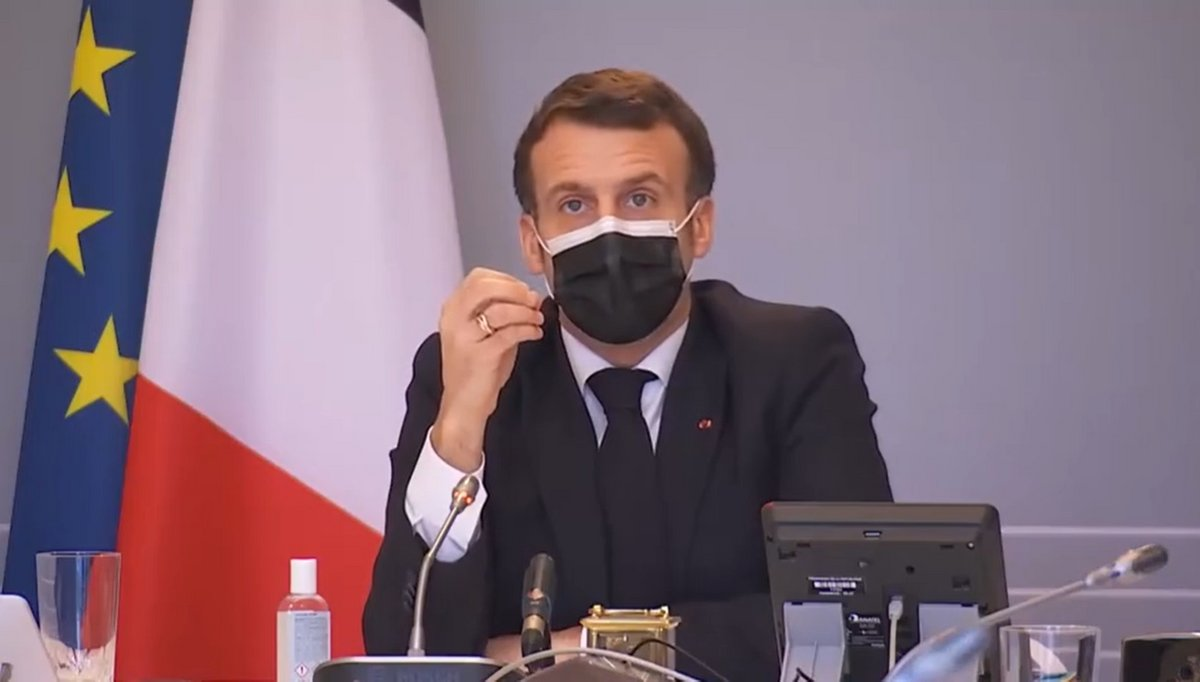 Emmanuel Macron 18 février 2021