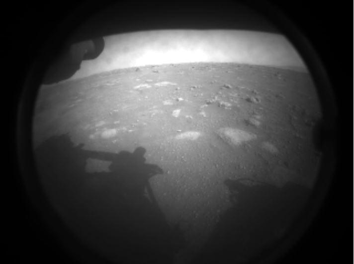 Perseverance 1e image sol Mars
