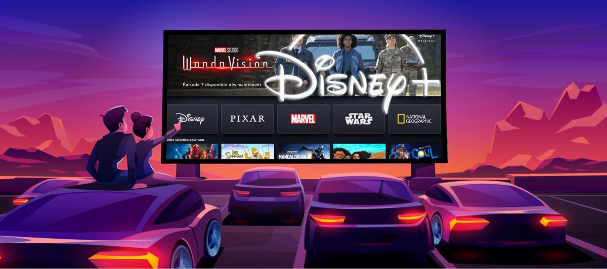 Sélection Disney+ © Clubic x Disney+