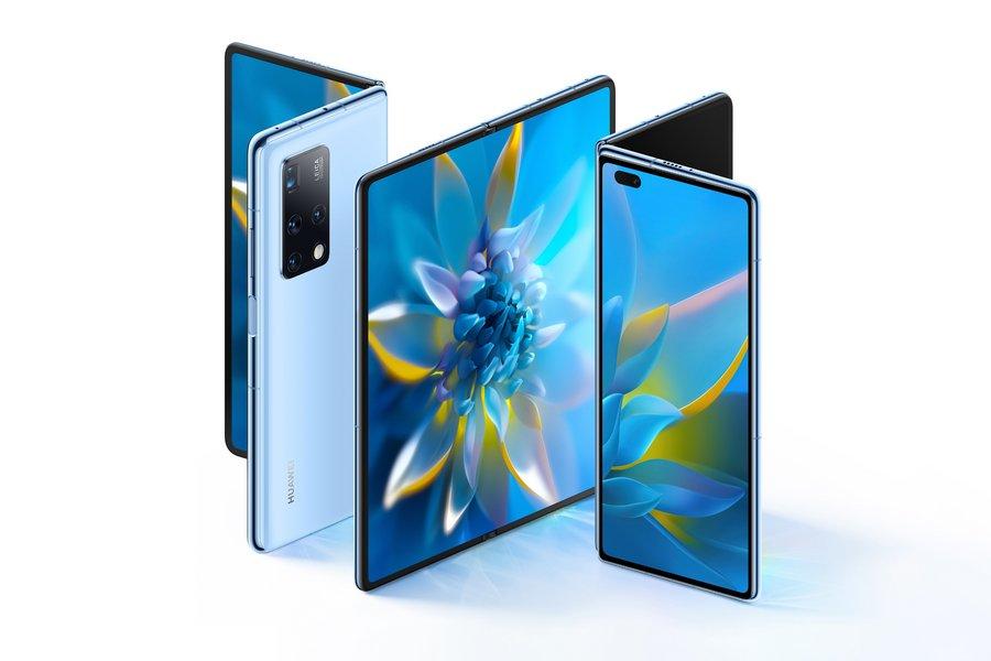 Huawei présente son Mate X2, un smartphone pliant qui adopte le design du Fold de Samsung - Clubic