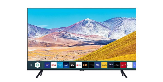 Cette TV Samsung 82 pouces profite d'une belle réduction pour les Soldes Boulanger