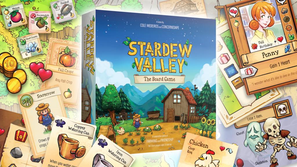 Stardew Valley : un jeu de plateau officiel pour 1 à 4 joueurs lancé par le créateur du jeu