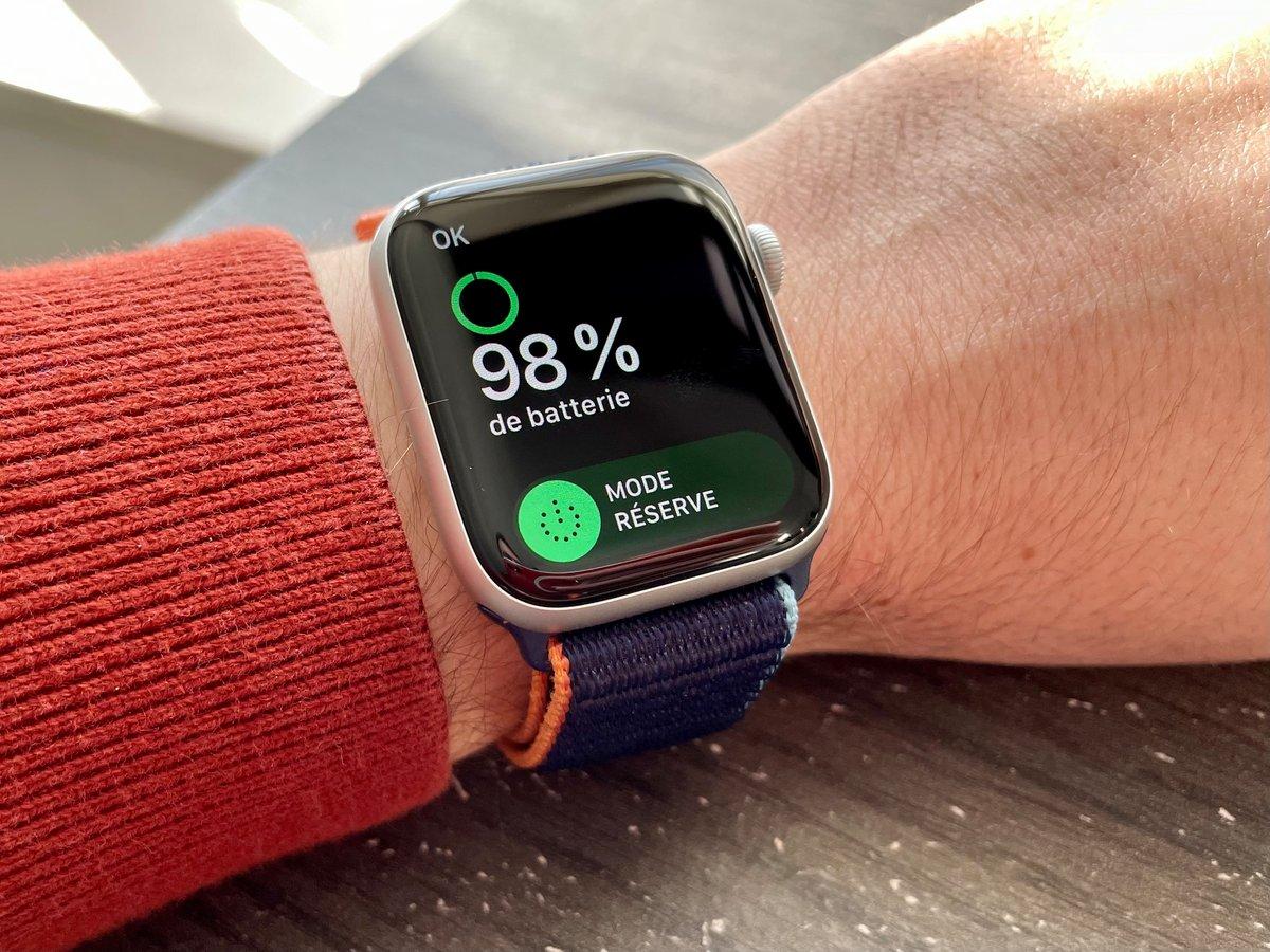 Apple Watch Batterie © Mathieu Grumiaux pour Clubic