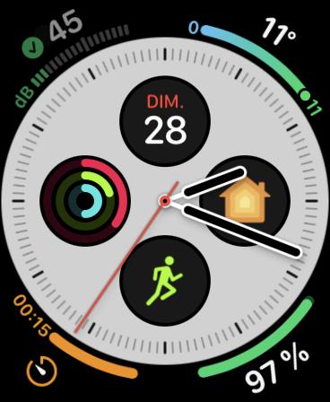 Apple Watch Cadrans © Clubic.com