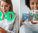 Forfait mobile : RED by SFR et B&You à 5 € par mois, lequel choisir ?