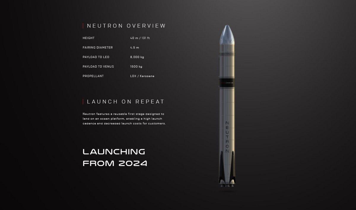 RocketLab Neutron © RocketLab