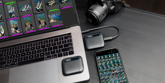 Crucial étend sa gamme de SSD portables X6 à 4 To mais au prix fort (pour l'instant)