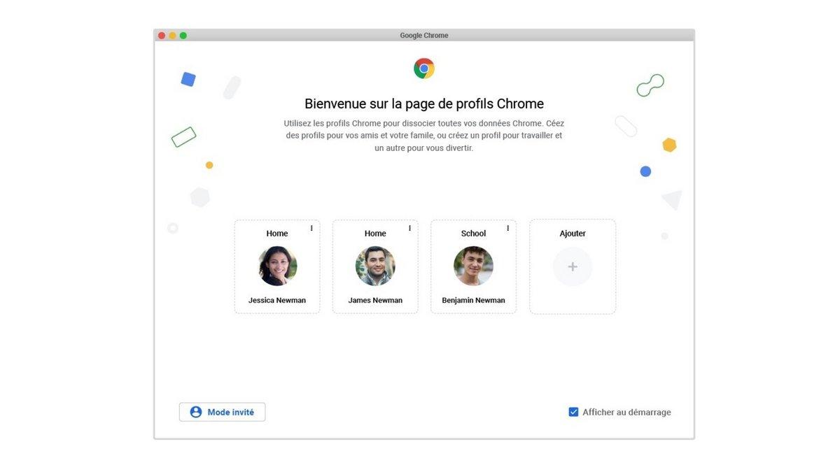 Chrome France © Google
